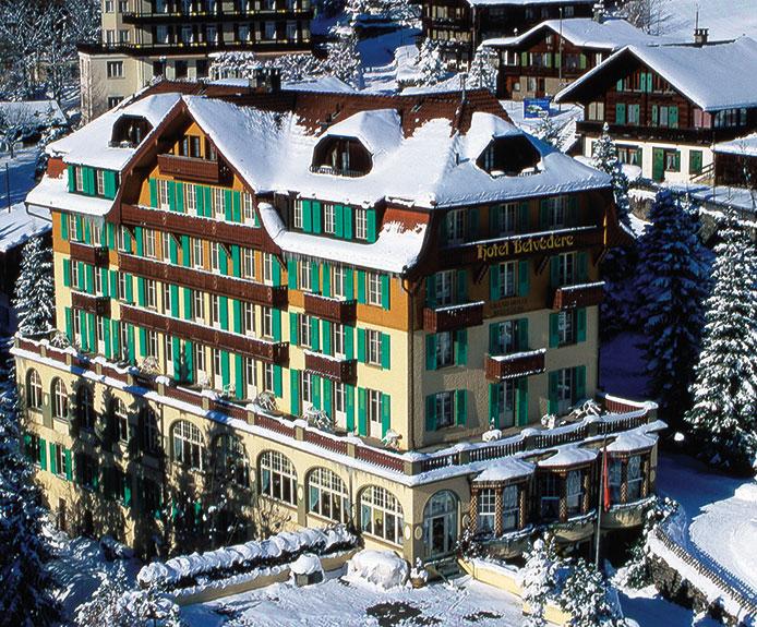 Hotel Belvédère, Wengen
