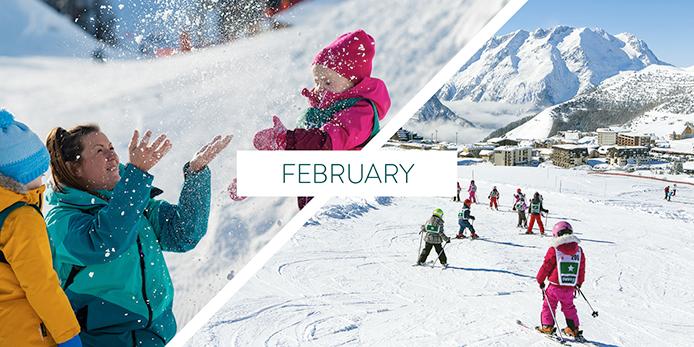 Why ski in February