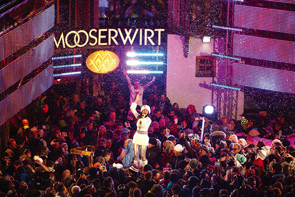 Mooserwirt bar in St Anton