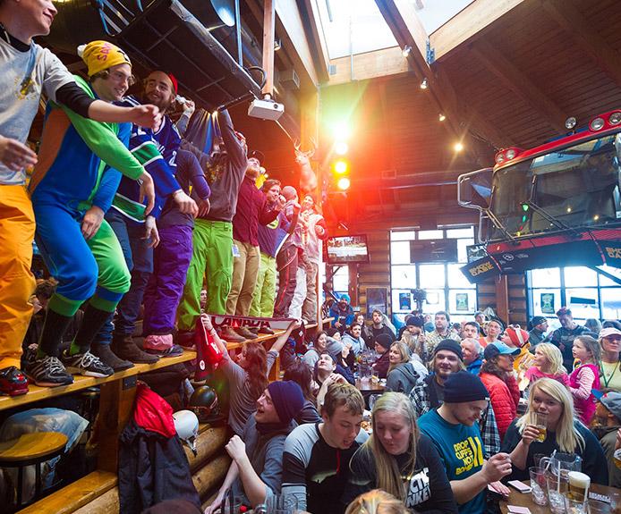 Apres bar in Whistler