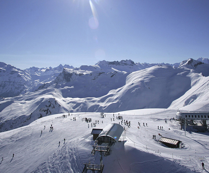 Flaine ski area
