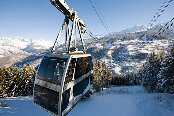 Vanoise Express cable car